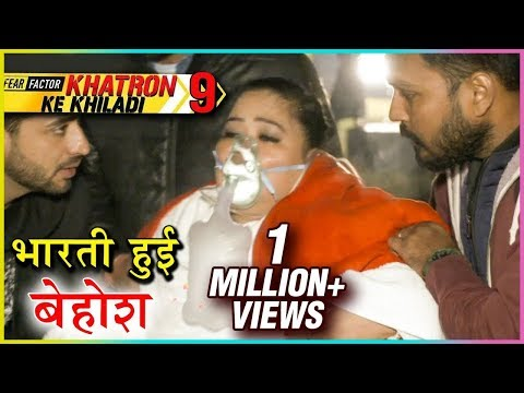 Bharti Singh FAINTS In Swimming Pool TASK | Khatron Ke Khiladi Season 9