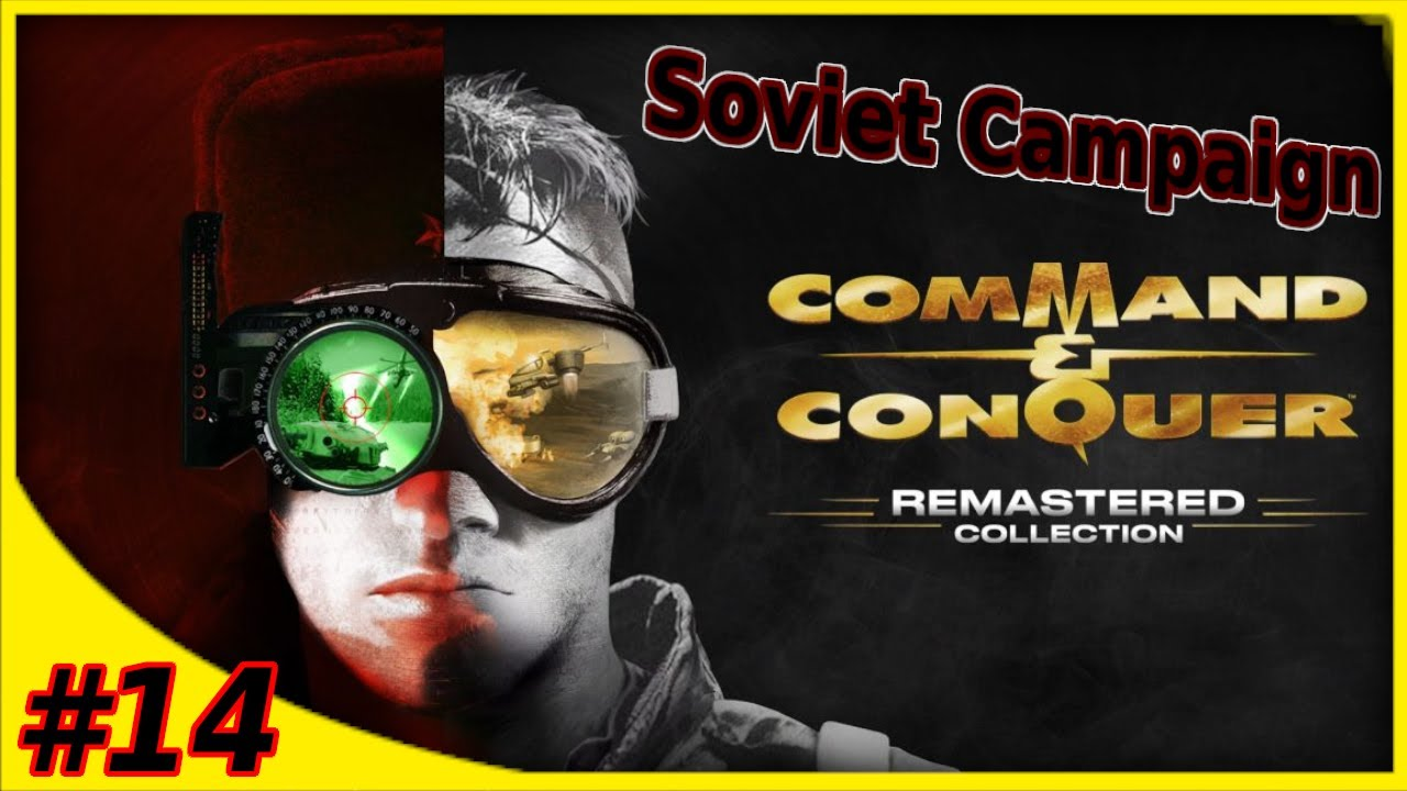 #14 Command And Conquer Remastered Red Alert - Soviet Campaign Hard