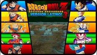 DRAGON BALL Z BUDOKAI TENKAICHI 3 VERSION LATINO FINAL GAMEPLAY GOKU VS VEGETA FASES