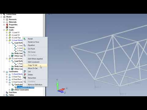 Simcenter Femap 2020 1 Automation Loads And Constraints