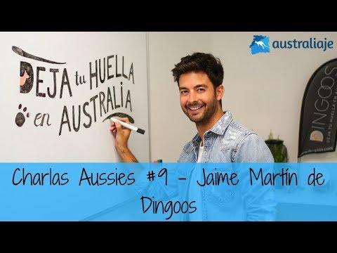 Jaime Martín, CEO de Dingoos. Charlas Aussies #9