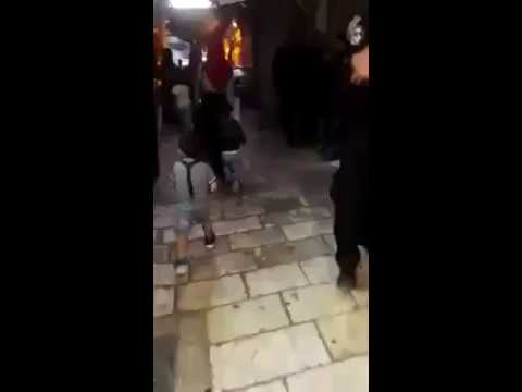 "Palestinian Mum Thinks it Funny to Encourage Child to ""Shoot"" Israeli Police Officer"