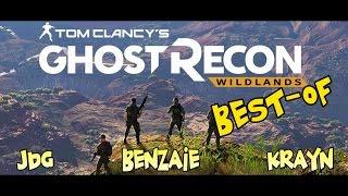 BEST-OF - Soirée Ghost Recon WIldlands (Fred/Seb/Benzaie/Krayn)