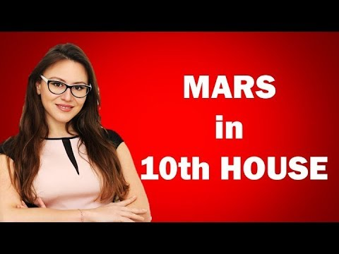Mars in 10th house in the Birth Chart  The Executives!