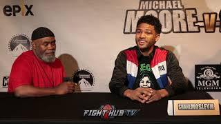 FULL SHANE MOSLEY JR VS BRANDON ADAMS POST FIGHT PRESS CONFERENCE - THE CONTENDER