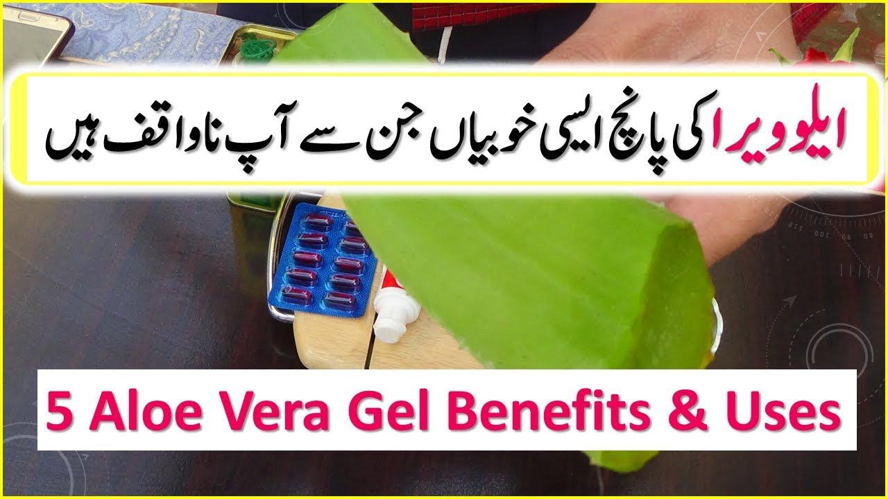 5 Aloe Vera Gel Uses And Benefits | Skin Care | Hair ...