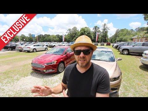 2018 Ford Fusion Titanium Versus 2018 Chevrolet Malibu Premier | In Depth Comparison Review