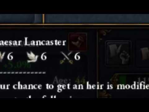 EU4 | When you get a 6 6 6 heir