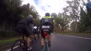 Nsw Police Legacy Bicycle Ride 2015 (day 2) Mittagong To Goulburn