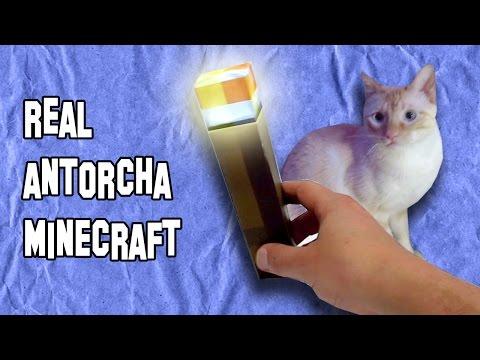 ✔ Como Hacer una Antorcha de Minecraft |  How to Make a Torch Minecraft