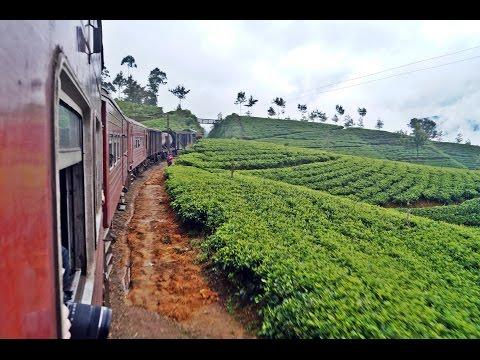 Travel in Sri Lanka Traintrip from Kandy to Nuwara Eliya Part II