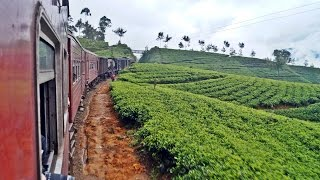 Travel in Sri Lanka Traintrip from Kandy to Nuwara Eliya Part II