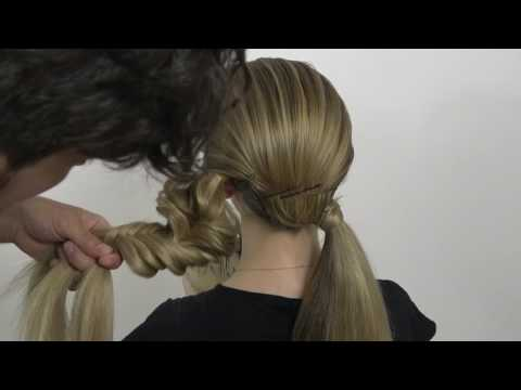 Simple and easy hairstyle by Farrukh Shamuratov