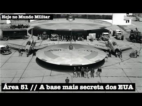 Área 51, a base militar mais secreta dos EUA