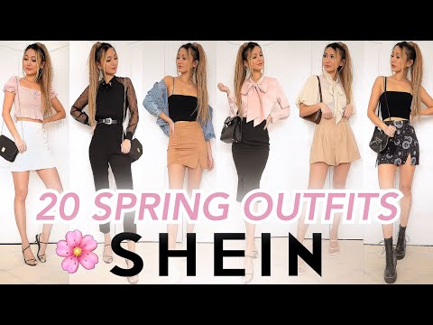 20 SHEIN SPRING OUTFITS | Try-on Haul & Review