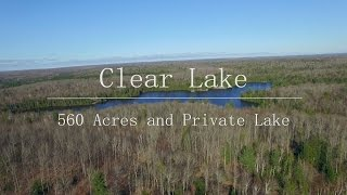 Clear Lake 560 Acres and Private Lake