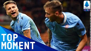 Ciro Immobile's 100th goal for Lazio | Milan 1-2 Lazio | Top Moment | Serie A