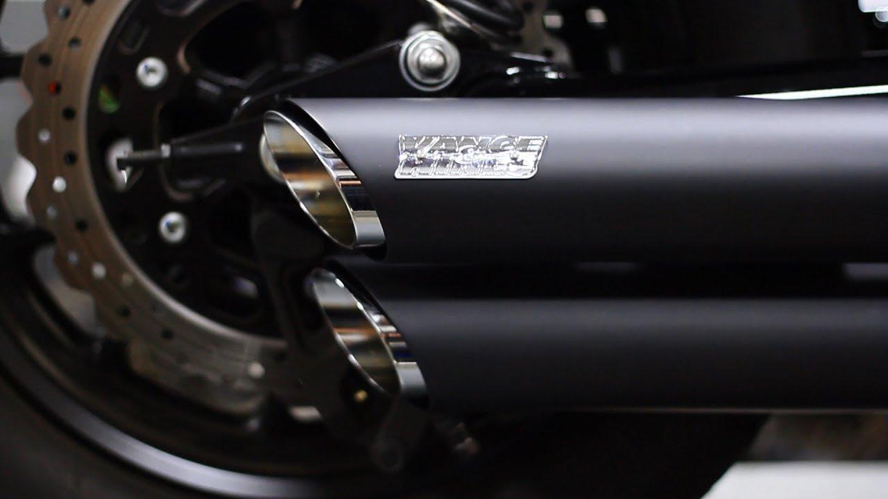 Yamaha Bolt Vance And Hines Twin Slash Install