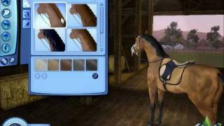 Demo of Create a Pet- The Sims 3 Pets- Horse
