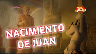 Superlibro| Comic Bíblico| Nacimiento de Juan el Bautista