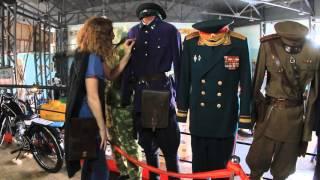Выставка военной формы в музее ''Машины времени''