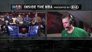 Inside the NBA: Jonas Jerebko | NBA on TNT