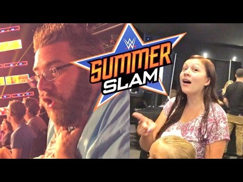 GRIM EMBARRASSES HEEL WIFE AT WWE SUMMERSLAM 2016 REACTING TO UNIVERSAL CHAMPIONSHIP WEARING DIAPER