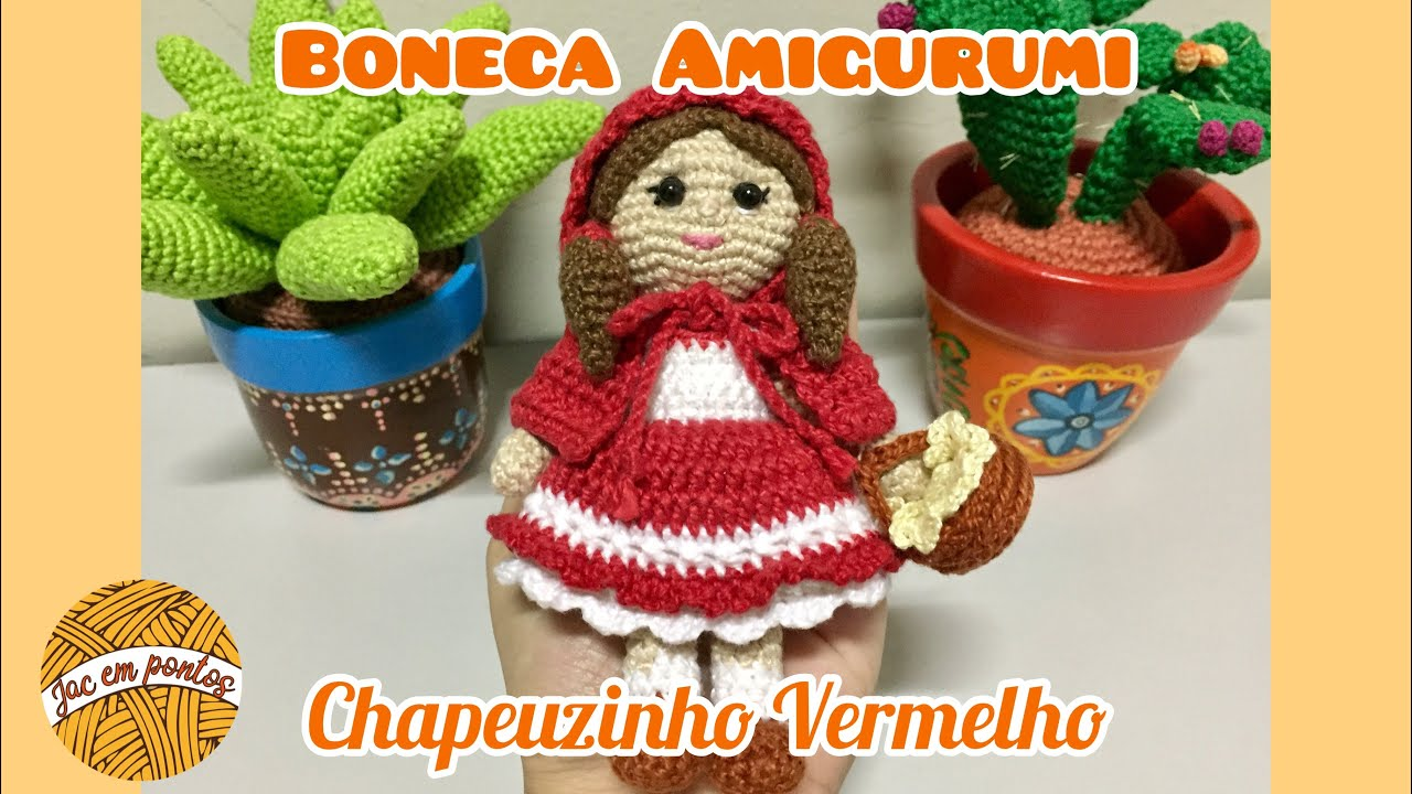 Amigurumi / Chaveiro em Crochê Boneca Sarita – Parte 3 – Gatatula | 720x1280