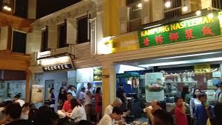 Food court yang ada di  Sentosa Island Singapore