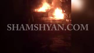 Խոշոր հրդեհ Դիլիջանում  կրակը վայրկյանների ընթացքում սեփական տունը վերածել է մոխրակույտի