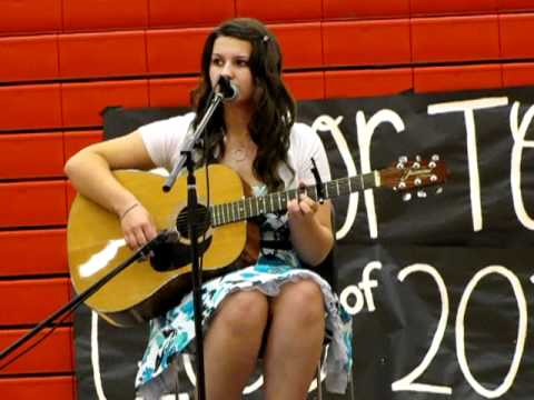 Me (Megan) Singing There Goes My Life by Kenny Chesney