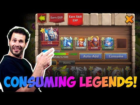JT's Main Consuming Legends BIG RIP! Castle Clash