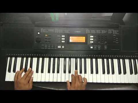 Uyirin Uyire | Kaakha Kaakha song in keyboard