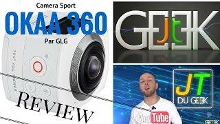 Camera 360 OKAA test vidéo, par GLG(La Okaa 360 est une camera sport qui permet de filmer à 360°, ou plutôt 180° afin d'avoir une vue panoramique à 180° pour ne rien louper. ▻S'abonner à la ..., 2016-04-16T03:29:39.000Z)