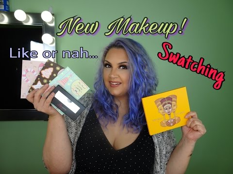 New Makeup and swatching | Too Faced | Morphe | Juvia's Place | Lilly Lashes