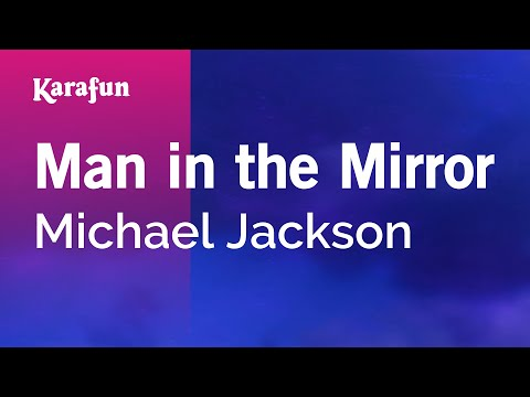 Karaoke Man In The Mirror  Michael Jackson *