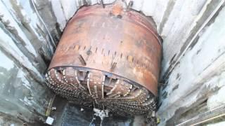Video of Seattle Tunnel Partners rotating Bertha's cutterhead