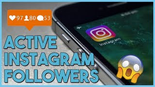 HOW TO GET ACTIVE INSTAGRAM FOLLOWERS 2017 - WITH PROOF ON HOW TO GO VIRAL!