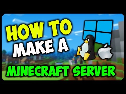 How To Make Minecraft Server On Pc Easy Tutorial