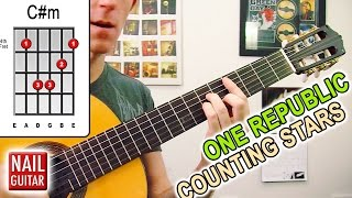 Counting Stars ★ One Republic ★ Acoustic Guitar Lesson - Easy How To Play Tutorial