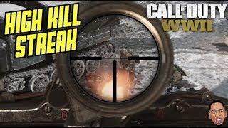 CRAZY KILL STREAK! Call of Duty WW2 (Team Deathmatch)