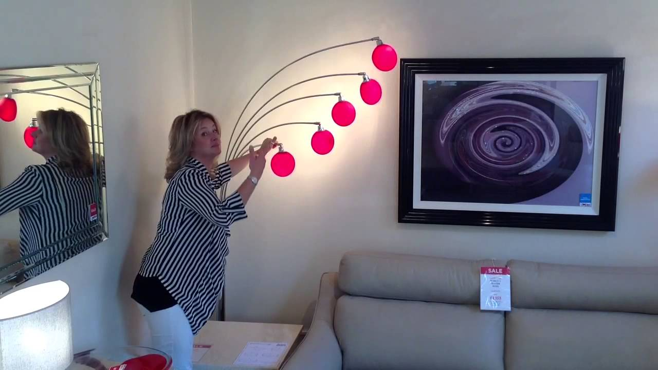Lounge 5 Red from Danalight | Mia Stanza, Cheshire - YouTube