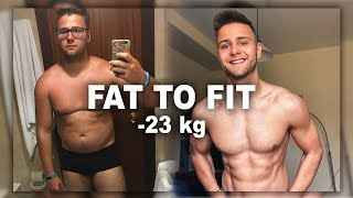 6 MONTH BODYBUILDING BODY TRANSFORMATION | BIG CHANGE FROM FAT TO FIT