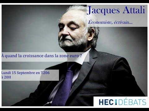 HEC Debats reçoit Jacques Attali - Conférence