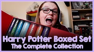 Random Unboxing + Review! Harry Potter Complete Collection