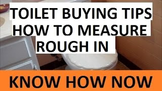 Tips How to Buy a Toilet - Toilet Buying Guide