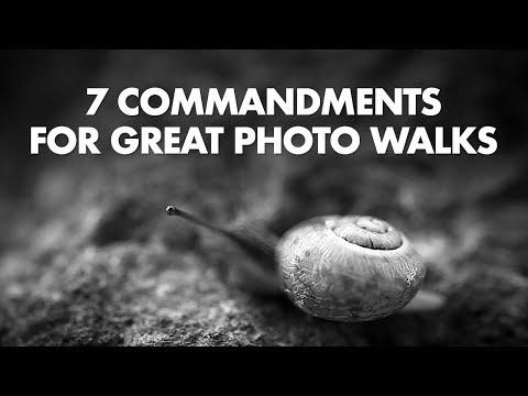 7 Commandments for Great Photo Walks