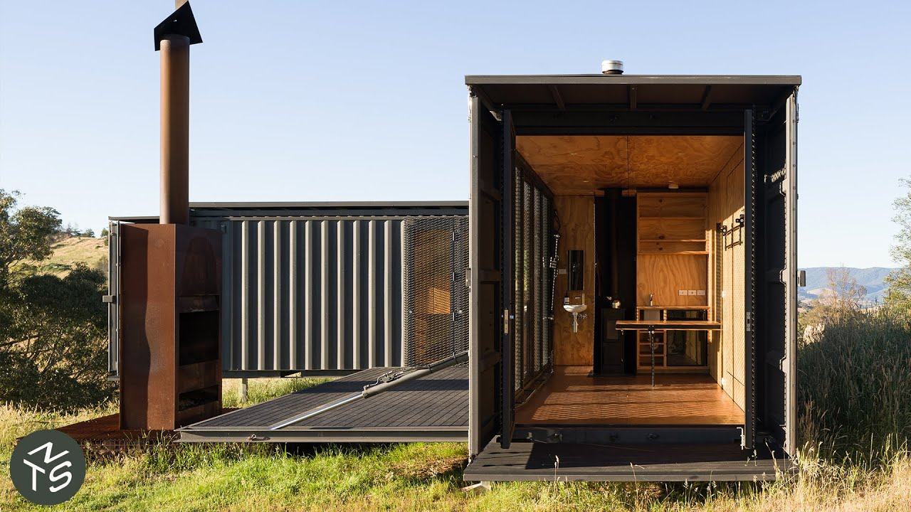 NEVER TOO SMALL 30sqm/323sqft Shipping Containers - Mansfield Tiny Home