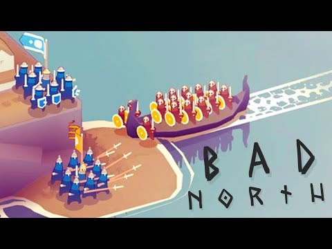 Bad North - Burning Us Alive!? - A New Battle - Bad North Gameplay Highlights