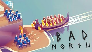 Bad North - Burning Us Alive!? - A New Battle - Bad North Gameplay Highlights